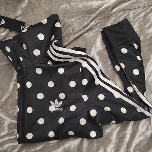 Adidas Polka Dot Track Jacket
